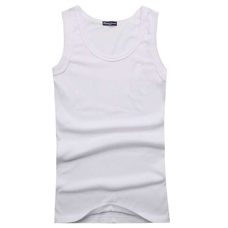 862ff2b1afa806 Muscle Men Solid slimming Tank Top Quality Premium Cotton A Shirt Wife  Beater Tank-in Tank Tops from Men s Clothing on Aliexpress.com