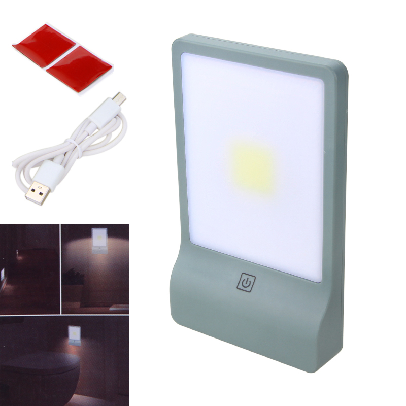 10W COB LED Intelligent Lamp 3 Modes Night Light Wardrobe Lights Magnet Easy Install Emergency Wall Light with USB Line the led clothing lights 3v 10 beads with magnet