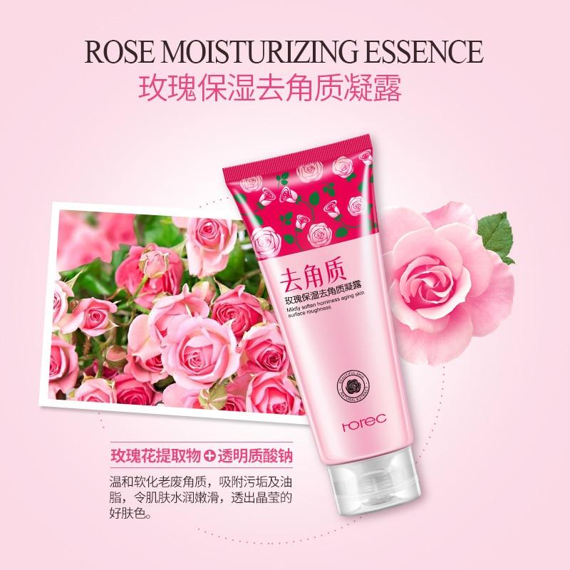 Rorec Exfoliating Rose Facial Scrubs