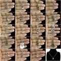 Glowcat q277 liga de prata da nota da música da flauta de áudio do microfone do vintage trompete guitarra jorn pingente choker mulheres colar de 18 polegada