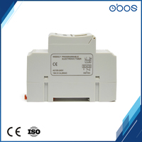 2pcs enjoy cheap price din rail programmable 12V timer with 16 times on/off per day /weekly timing range 1min 168H free shipping