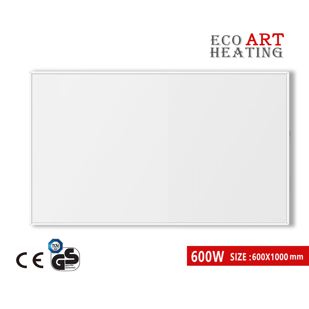 600W Infrared Radiation Heating Panel with LED Indicator Home System Electric Heater