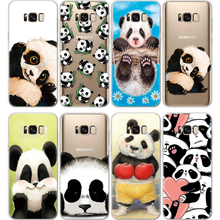 Panda TPU Case For iPhone X 10 5S 5C SE 6 6S 7 8 Plus For Samsung Galaxy J3 J5 J7 A3 A5 A6 A8 2016 2017 2018 S7 S8 S9 Plus Cover