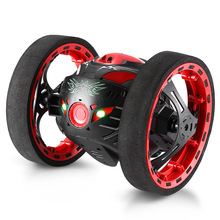 RC Car 360 Degree  Bounce Remote Control Toys Robot 80cm High Jumping Radio Controlled Cars Machine LED Night