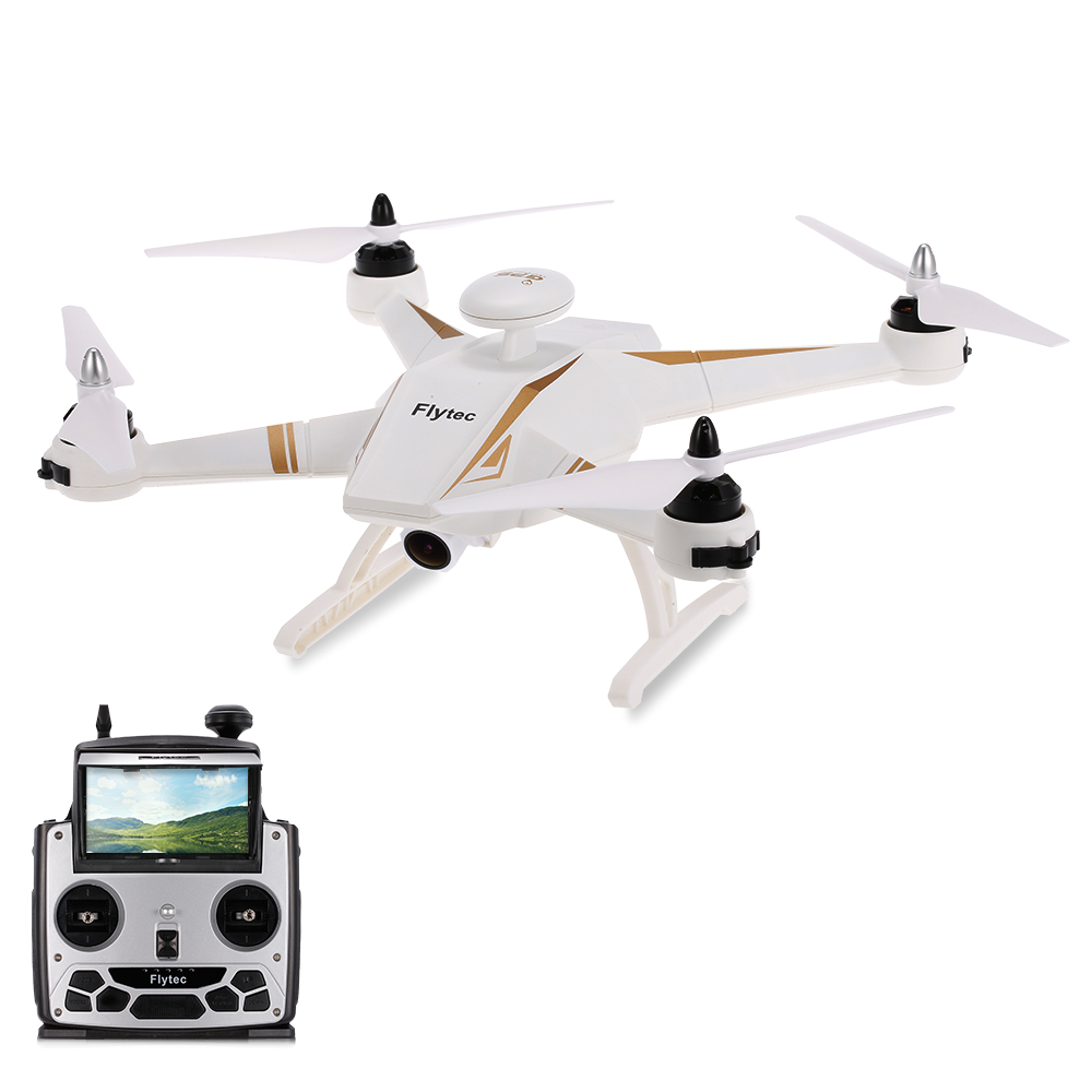 Flytec Navi T23 Brushless Double GPS 1080P HD Camera Drone 5.8G FPV Follow Me Fixed Point Transmission Controll Support Airplane