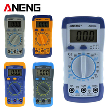 ANENG A830L LCD Digital Multimeter Test Current AC/DC Voltmeter Diode Freguency Multitester Volt Tester Transistor Tester