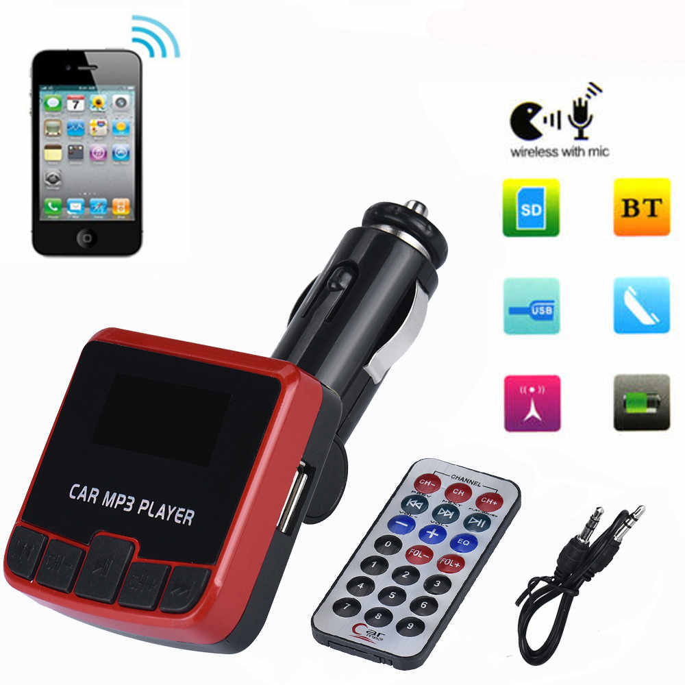 Car Kit MP3 Player FM Transmitter Wireless Radio Adapter USB Charger MP3 Automotive Electronic Accessories # YS