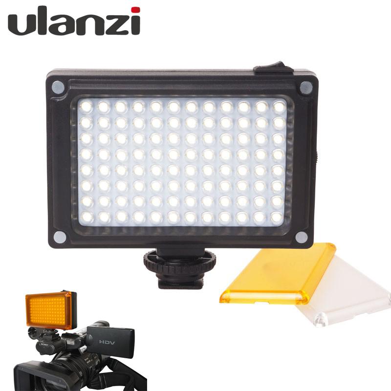 Prix pour 112 LED Dimmable Lumière Vidéo Lampe Rechargeable Panal Lumière (blanc et Lumière Chaude) pour DSLR Caméra Videolight De Mariage Enregistrement