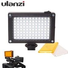 112 LED Затемнения лампы Видео Свет Лампы Аккумуляторная Свет Panal (белый и Теплый Свет) для DSLR Камеры Videolight Свадебные Записи