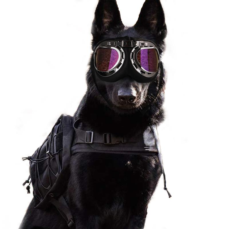 Pet Cat Dog Sunglasses Large Dog Glasses Pet Cat Eyewear Foldable Sun-resistant Goggles Gromming Photos Pets Supplies