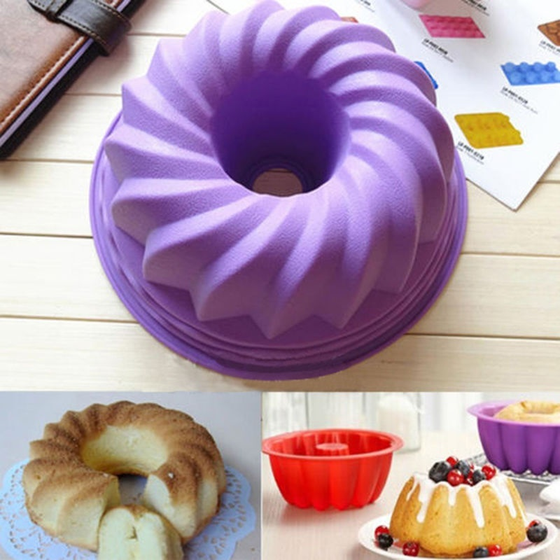 Silicone Pan Ring Cake Mould