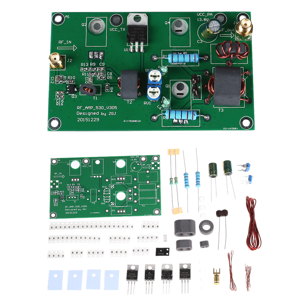 Image 5 - 45W SSB AM Linear Power Amplificateur CW FM Power Amplifier HF Radio Transceiver Shortwave DIY Kit Signal Amplification-in Instrument Parts & Accessories from Tools
