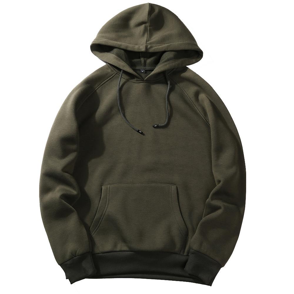 FGKKS New Autumn Fashion Hoodies Male Warm Fleece Coat Hooded Men Brand Hoodies Sweatshirts EU Size 9