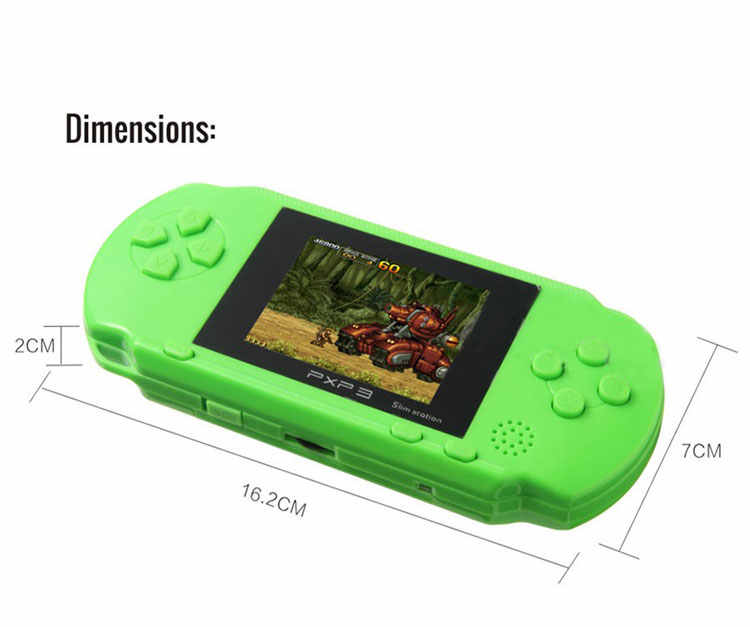 b94c76ab0e1 ... Portable Game player PXP 3 Handheld 16 Bit Game Console Retro Color  Video Gamepad Game Controller ...