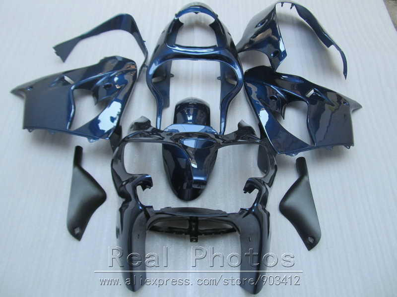 Bodywork plastic fairing kit for Kawasaki Ninja ZX9R 2000 2001 blue fairings set ZX9R 00 01