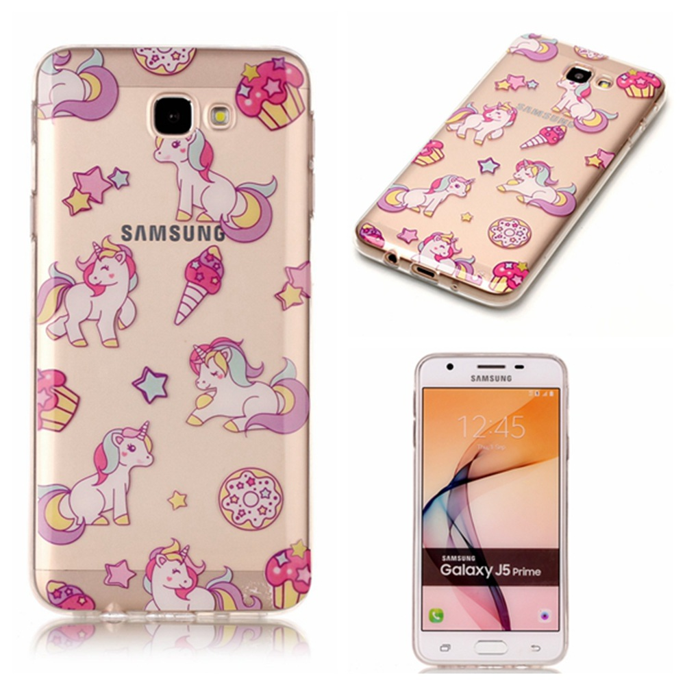 for coque samsung galaxy j5 prime silicone case cover samsung galaxy j5 prime phone case unicorn. Black Bedroom Furniture Sets. Home Design Ideas