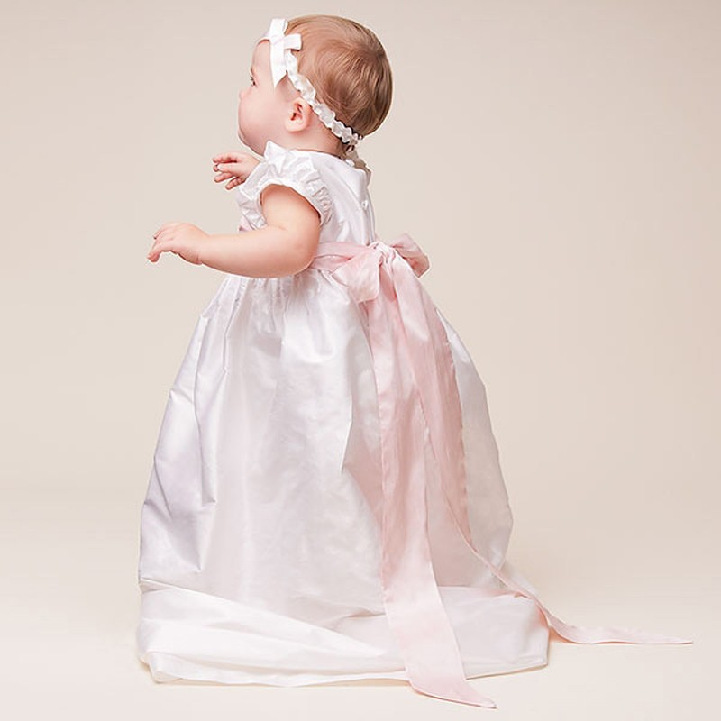 Baby Girls Baptism Gown (5)