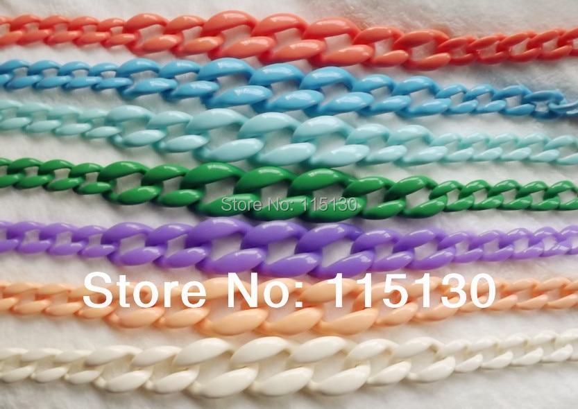 FishSheep 17 colores Satement collar de acrílico grande para las - Bisutería - foto 5