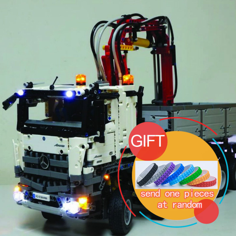 20005 2793pcs technic series 42023 Arocs Model Building Compatible with Boys Educational Gift 05007 Toys lepin lepin 20005 2793pcs technic series model building block bricks compatible with boys toy gift compatible legoed 42023