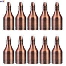 IWHD бутылка из серии «сделай сам» Portalamparas Винтаж E27 светильник в розетку держатель света 110-220 В Ретро Douille Soquete E27 держатель для лампы CE UL