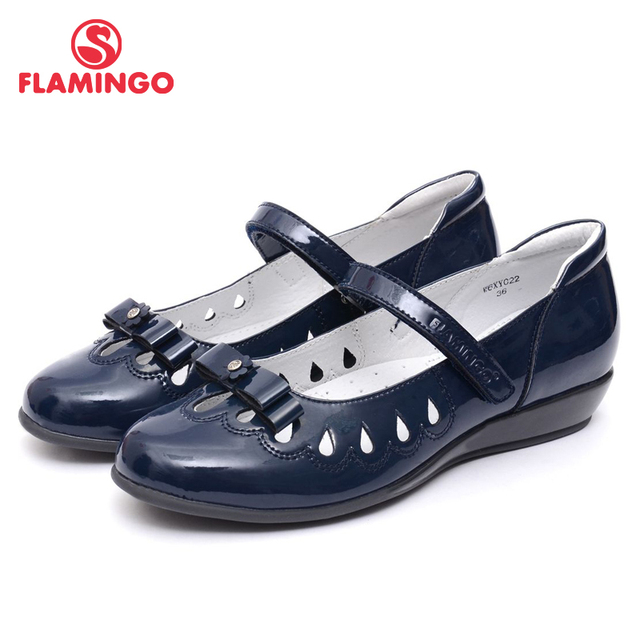 FLAMINGO 2016 new arrival spring & autumn kids shoes fashion high quality classic school shoes for girls W6XY022/021