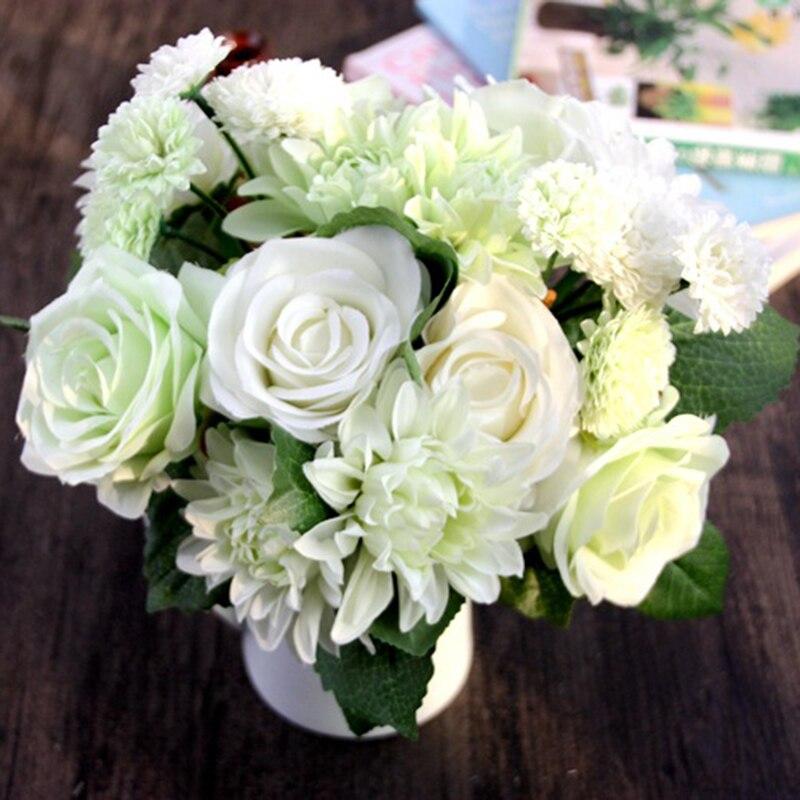 dahlia fleur de tissu promotion-achetez des dahlia fleur de tissu
