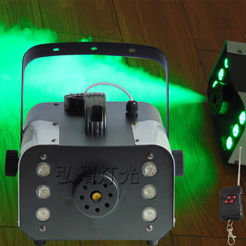 Constant temperature RGB 3in1 LED 900W smoke machine Up jet 900W fog machine of professional DJ equipment обогреватель triangle 900w