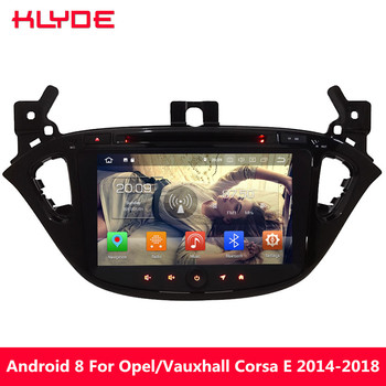 KLYDE 4G Android 8.0 7.1 Octa Core PX5 4GB RAM 32GB ROM Car DVD Multimedia Player Radio For Opel/Vauxhal Corsa E 2014-2017 2018