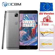"Global de LA UE Verison Original Oneplus Oneplus 3 3 T A3003 6 GB RAM 64 GB ROM Snapdragon 820 821 Quad Core 5.5 ""Teléfono Móvil huella digital"