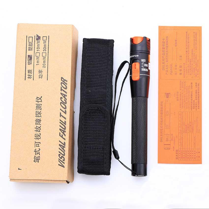 KELUSHI toptan fiyat 10 mw Fiber Optik Kablo Test Cihazı Kırmızı - İletişim Ekipmanları - Fotoğraf 6