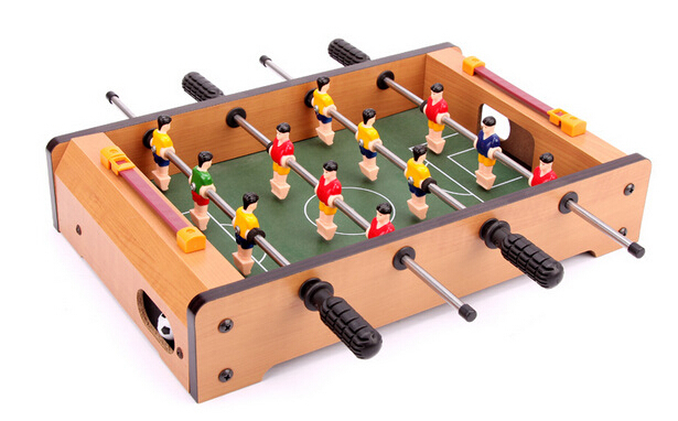 Mini Classic Desktop Football Game Multi Player Father Mother Baby Table Soccer Game Wood Children Toys