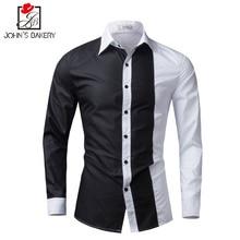 Мужские рубашки с длинным рукавом новый бренд 2017 Мужская рубашка, рубашка Slim Fit Camisa masculina повседневные мужские Гавайский рубашки 5XL(China (Mainland))