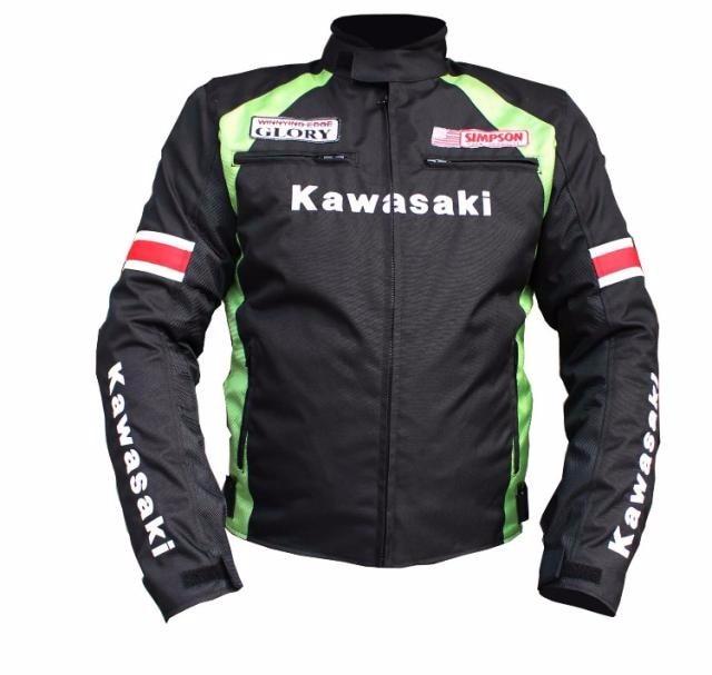Kawasaki motorcycles motocross protective vests vests men riding motorcycle racing SUmmer winter jacket with fo
