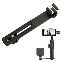 Ulanzi BOYA BY-C01 Metal Cold Shoe Plate Universal for iPhone Zhiyun Smooth 4/Smooth Q Gimbal LED Light BY-MM1 Microphone Flash