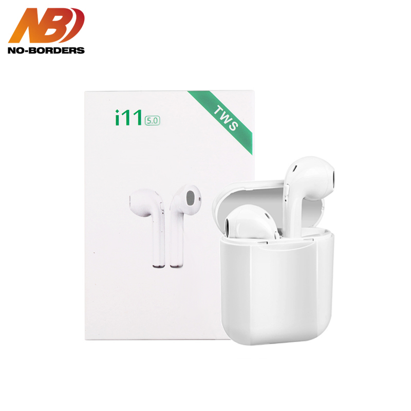 i11 TWS Wireless Stereo Earbuds Bluetooth 5 0 Headset Auto Pairing Sport Earphone For Iphone Android Huawei not i9s i10 i13 i60
