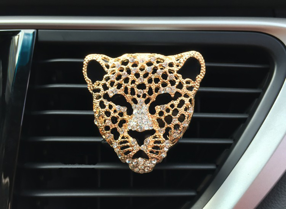 cat face car air freshener