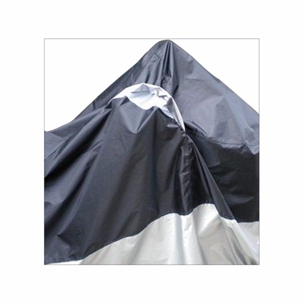 Black UV Protection Motorcycle Waterproof Cover Rain Protection Breathable XXL 2