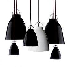Luces colgantes de hierro, lámpara colgante de diseño Vintage, lámpara con carillón nórdico, lámparas de techo, colgante, moder