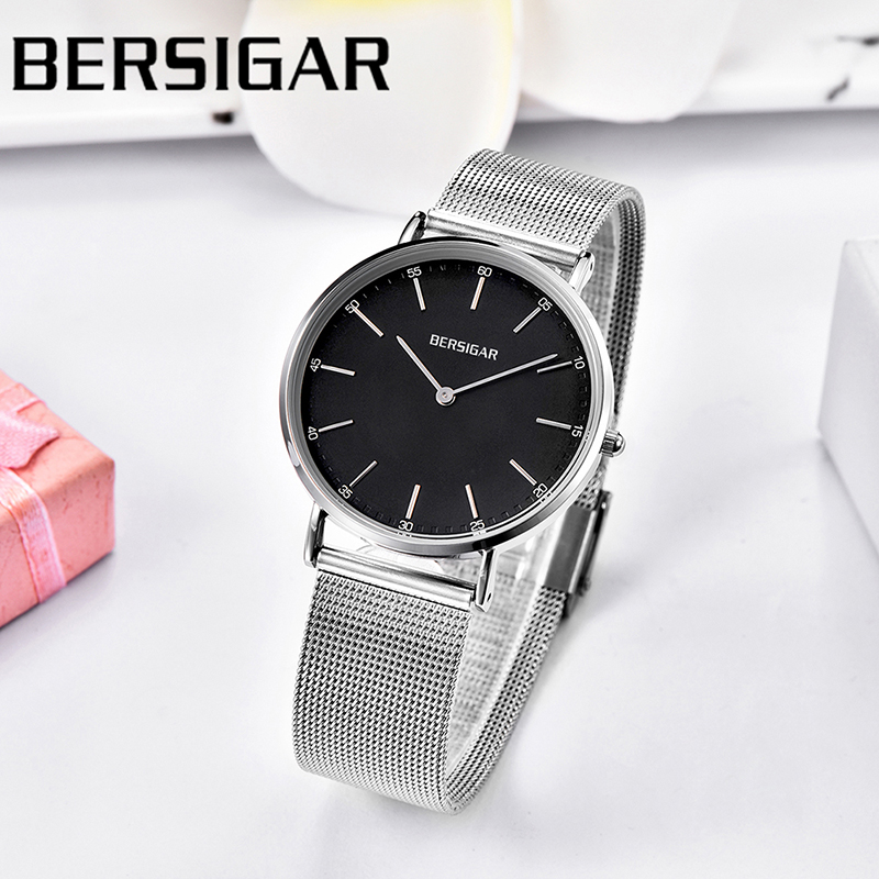 Relogio Feminino BERSIGAR ultra-thin ladies watch brand casual fashion quartz watch ladies waterproof ladies watch reloj mujerRelogio Feminino BERSIGAR ultra-thin ladies watch brand casual fashion quartz watch ladies waterproof ladies watch reloj mujer