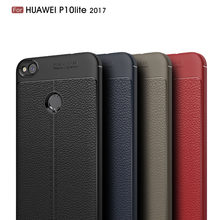 Huawei P8 Lite 2017 Case Cover Silicon Bumper Ring Shockproof Soft Matte Back Cover Case For Huawei P8 Lite 2017 Cases Fundas(China)