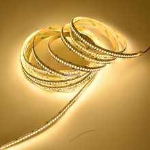 4800Lm/M супер яркий 24 V IP20 36 Вт 2835 Светодиодные ленты 240 светодиодный гибкий свет 5 м/катушка витрина Светодиодные ленты для кухни светодиодный освещение