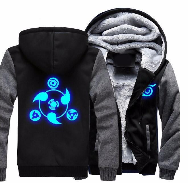 Naruto Luminous Hoodie Sweatshirt