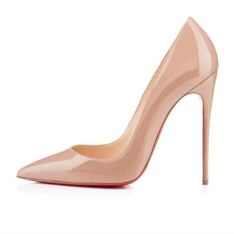 Hauts Mariage Et nu gris Sexy Chaussures Talons blanc Simples De Rouge Couleur Noir Printemps Nouvelles 2018 Des D'été Femmes Pure rose rouge vin vw0WqB