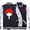 New Naruto Hoodies Sasuke Uzumaki Naruto Hooded Winter Luminous cotton baseball Coats Jackets Men Sweatshirt