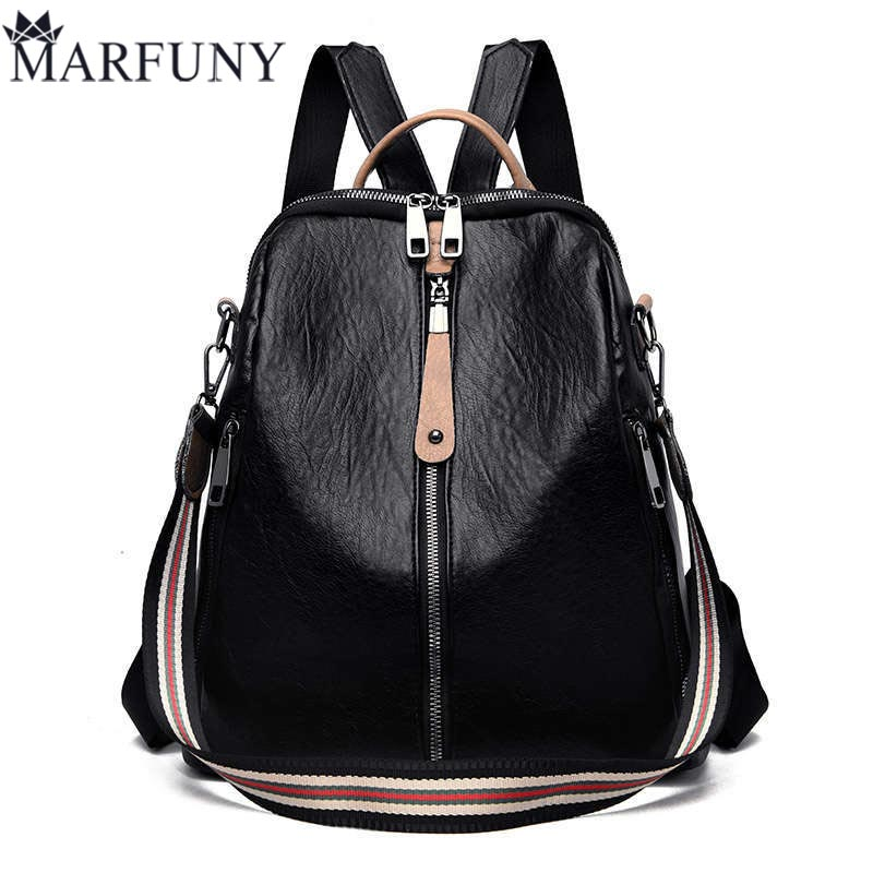 High Quality Pu Leather Backpack Women Patchwork Casual Daypacks Female Anti-Theft Backpacks For Teenage Girls Shoulder Bags SacHigh Quality Pu Leather Backpack Women Patchwork Casual Daypacks Female Anti-Theft Backpacks For Teenage Girls Shoulder Bags Sac
