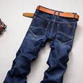 New Fashion 2016 Stretch famous brand men jeans Warm Winter jeans slim jeans pants trousers male long jeans hombre pantalones