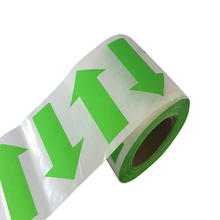 Arrow Stickers - Fluorescent Green Arrow Shape Color Coding Inventory Labels 500/roll 2 Inch X 1.25 Inch december fluorescent paper labels 500 labels roll 3 x 2
