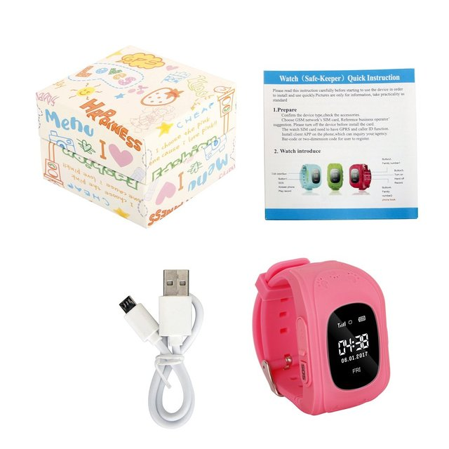 GENBOLI Smart Watch Phone Positioning OLCD Screen Casual