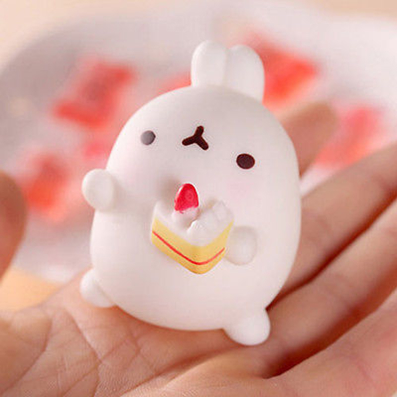 Mobile Phone Accessories Helpful New Kawaii Mini Animals Mochi Squishy Cute Photo Rabbit Tiger Decoration Phone Accessories Squeeze Stretchy Kids Toy Gift Cellphones & Telecommunications