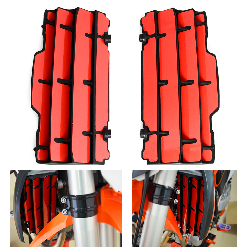 Radiator Guard Protector <font><b>Decal</b></font> Stickers For <font><b>KTM</b></font> 125 150 250 300 SX SXF XC XCF XCW XCFW EXC 2007 <font><b>2008</b></font> - 2015 2016 SX-F XC-F XC-W image